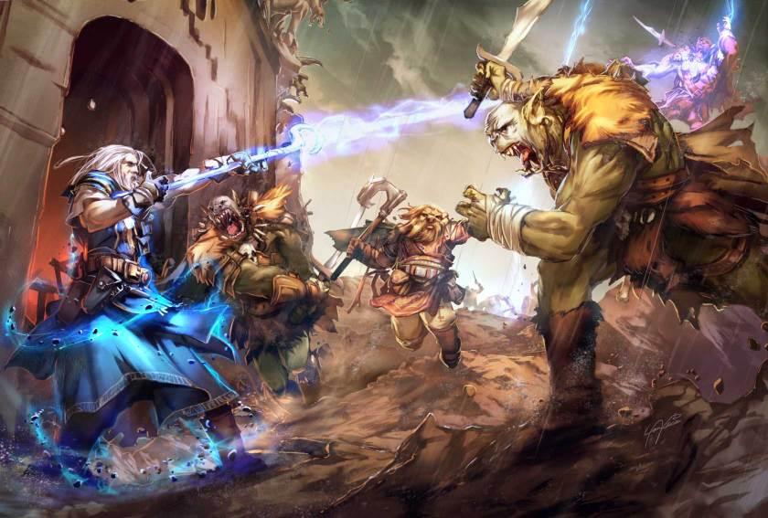 Orcs Confront
