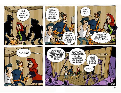 Os Fabulosos X-Men em Xapeuzinho Vermelho