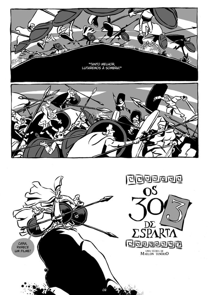 Os 303 de Esparta