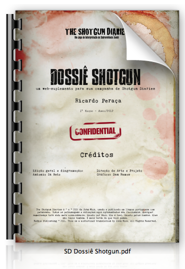 Dossiê Shotgun, suplemento gratuito para The Shotgun Diaries