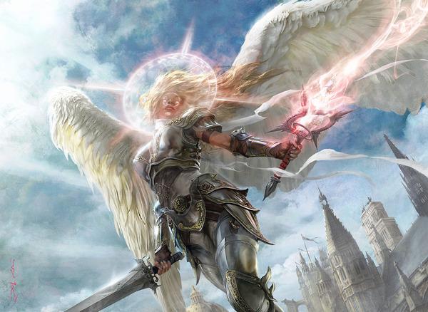 Angel of Serenity - Aleksi Briclot