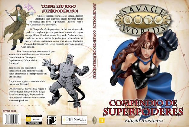 Compêndio de SuperPoderes - Savage Worlds