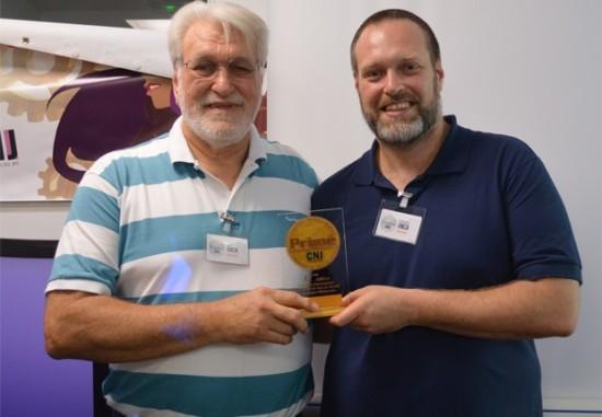 Fabiano e José Antônio Onça - 32ª edição do concurso de criadores de jogos