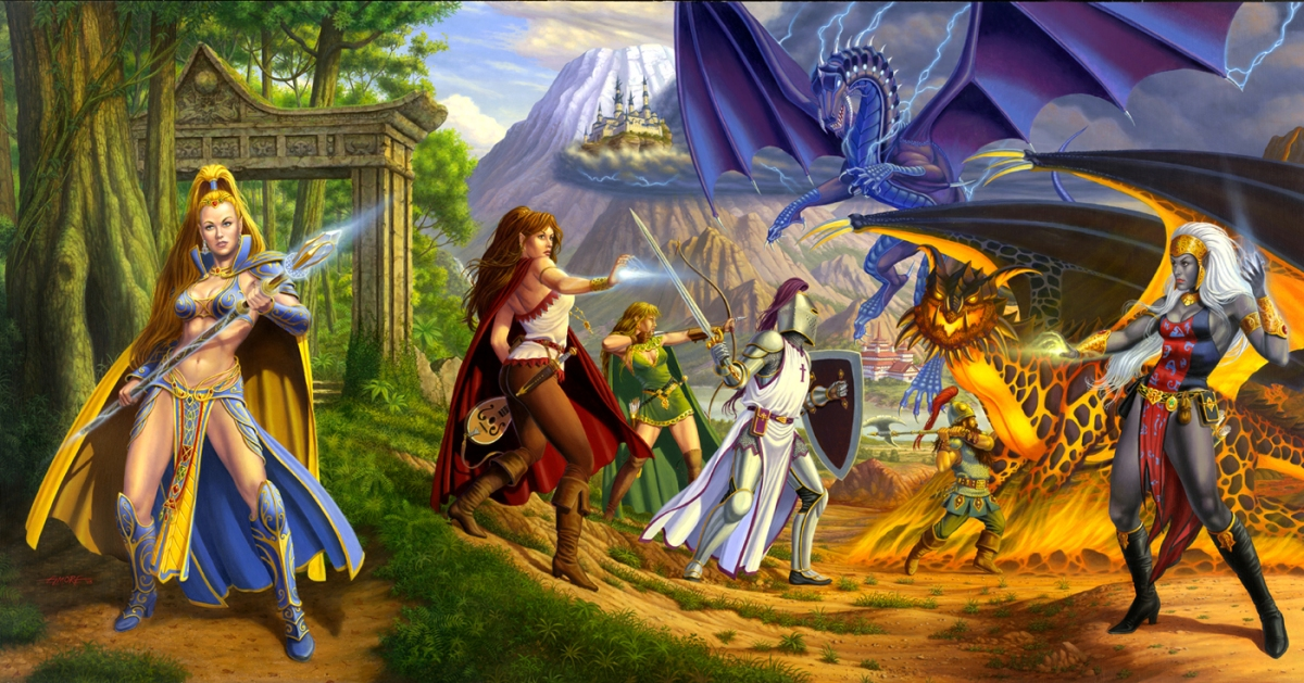 Conheça o Universo D6, Sistema Gratuito de RPG
