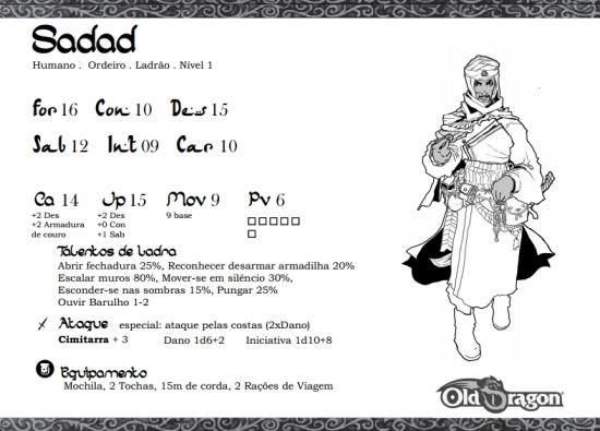 Sadad - Pj pronto - Old Dragon