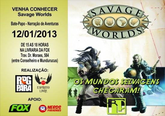 Venha Conhecer Savage Worlds