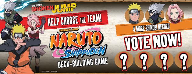 Naruto Shippuden Deck-Building Game vote
