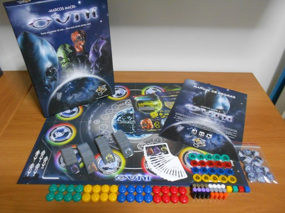 Ovni componentes do jogo