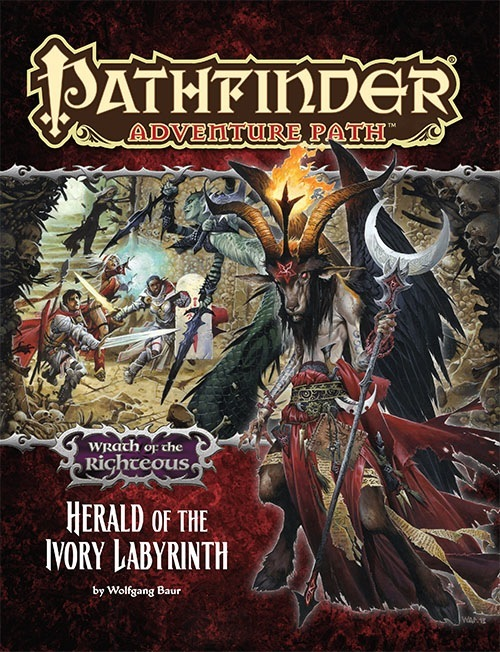 Pathfinder Adventure Path - Herald of the Ivory Labyrinth