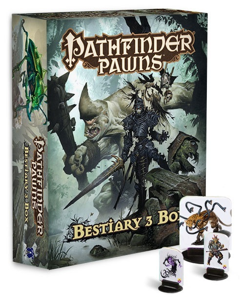 Pathfinder Pawns - Bestiary 3 Box