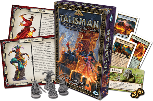 Talisman - The Firelands 1