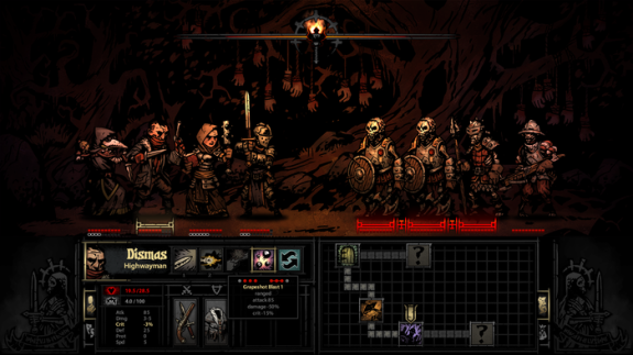 Darkest Dungeon - Turn Combat