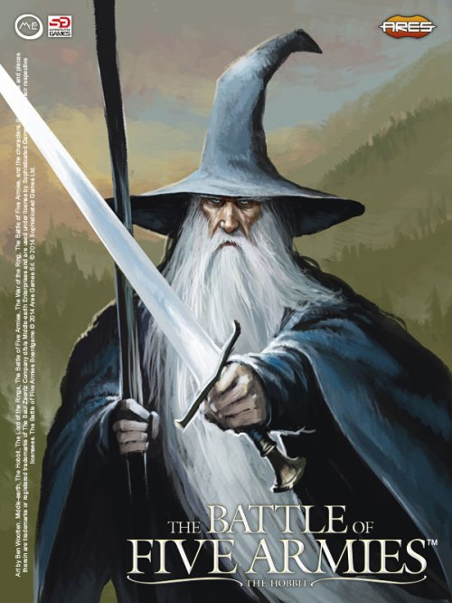 Gandalf - Arte de Ben Wootten (Battle of Five Armies)