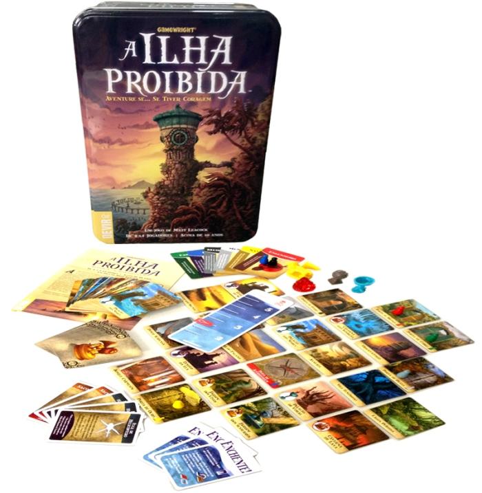 Ilha Proibida jogo - Devir Livraria