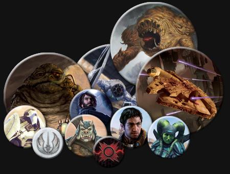 Marcadores - Kit Star Wars - Fronteiras do Império