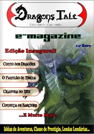Revista Dragon's Tale - Edição Zero